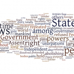 Weekly Wordle: Declaration of Independence